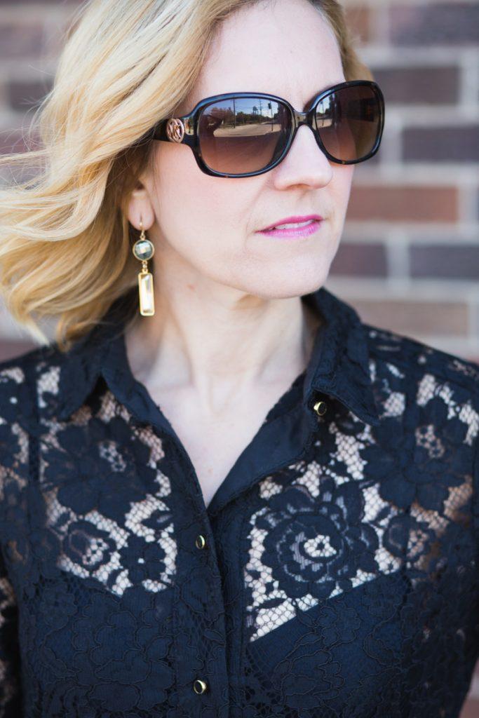 Elegant but Edgy Lace - Kathrine Eldridge, Wardrobe Stylist