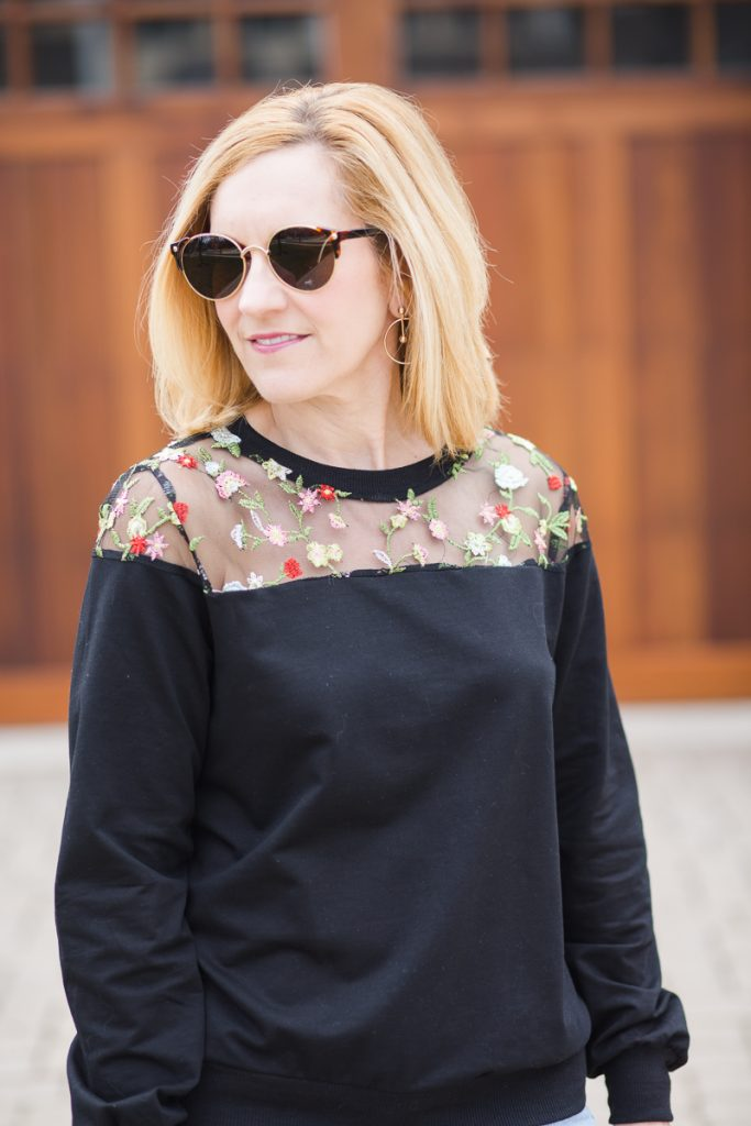 Embroidered Florals with a Side of Vintage Gucci - Kathrine Eldridge, Wardrobe Stylist