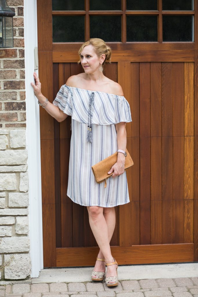 Summer Off the Shoulder Dress by Venus