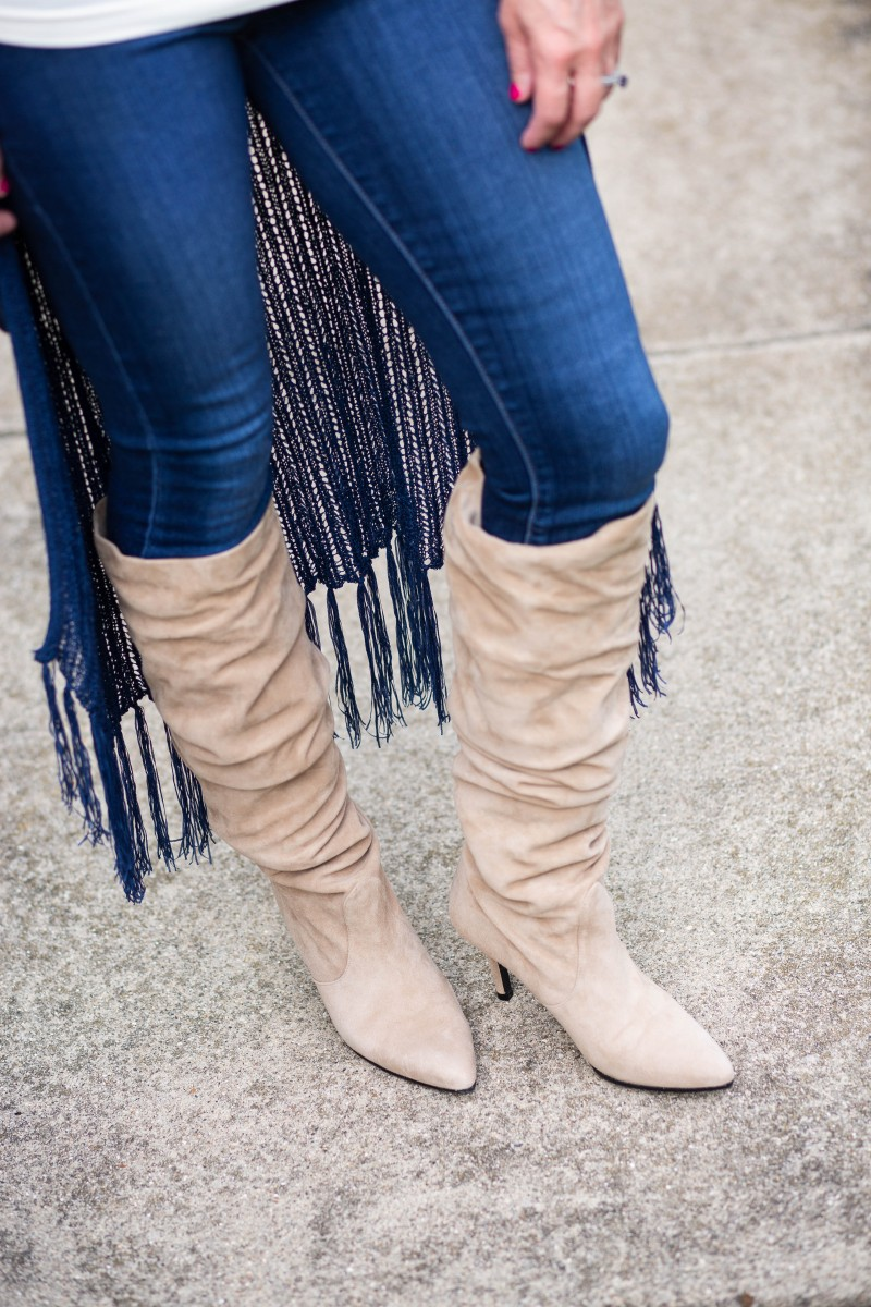 Boho Chic Suede Boots by Stuart Weitzman