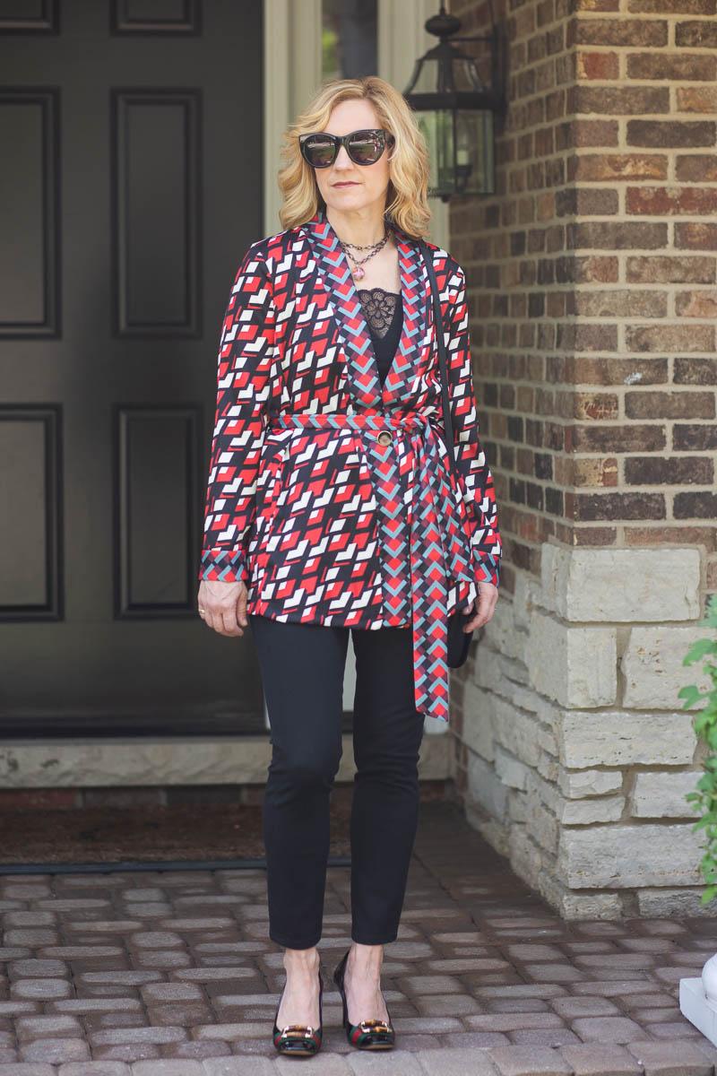Daftar Harga Blazer Grey Stylist Update 2018 Produk Ukm Bumn Jaquard Kimono Jacket By Closet London Kathrine Eldridge Wardrobe With