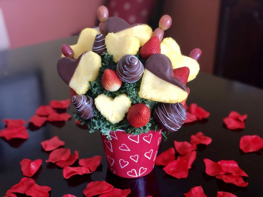 Sweet on You Gift Set from Fruit Bouquets.com