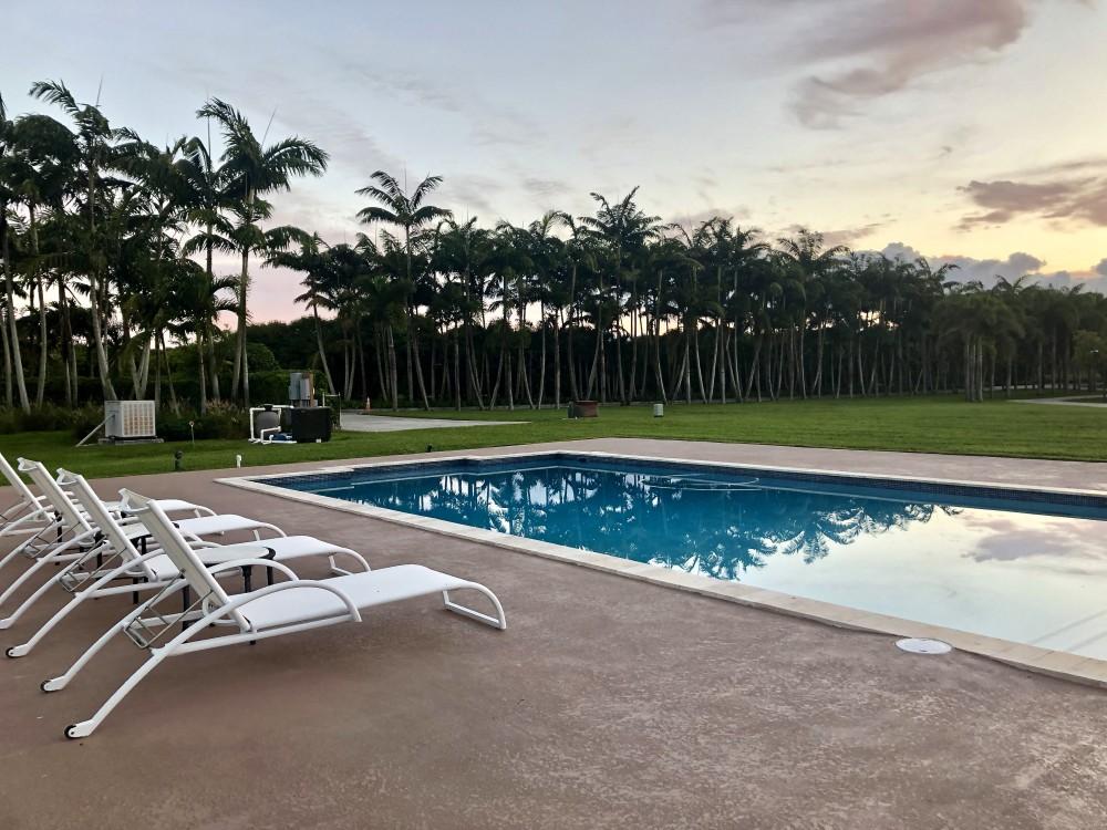 Pool at Redlands Cabin in Homestead, Florida