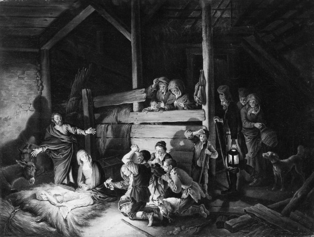The Adoration of the Shepherds,1760s, Christian Wilhelm Ernst Dietrich.jpg