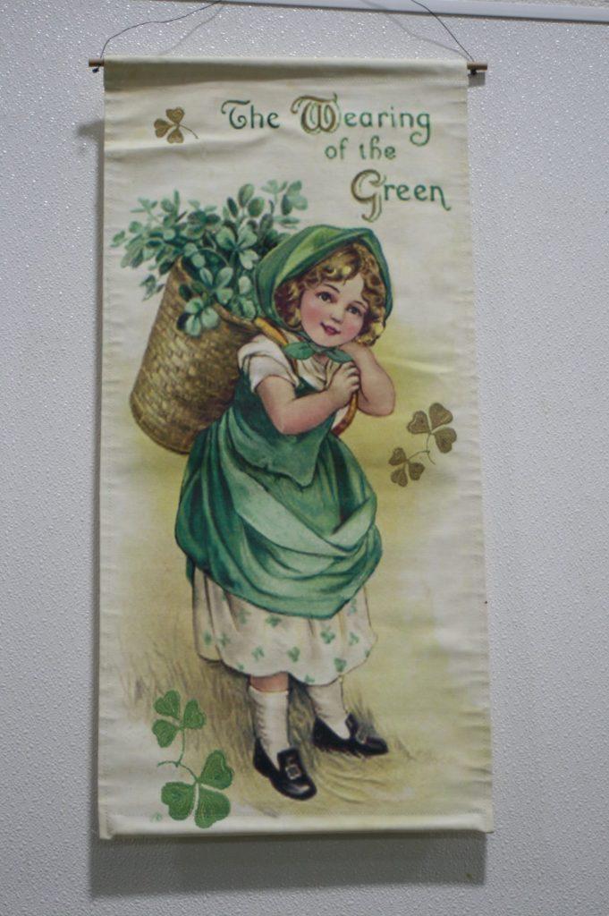 Banner celebrating St. Patrick's Day