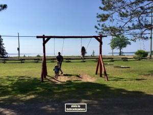 rest stop in Batchawana Bay