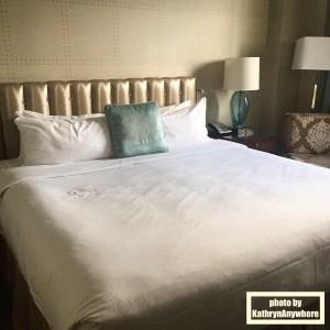 bed in Bessborough hotel saskatoon