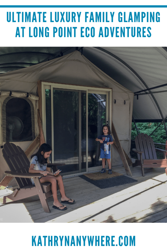 Ultimate Luxury Family Glamping Ontario #norfolkcounty #glamping #glampinglife #familytravel #familycamping #familyglamping #luxuryglamping