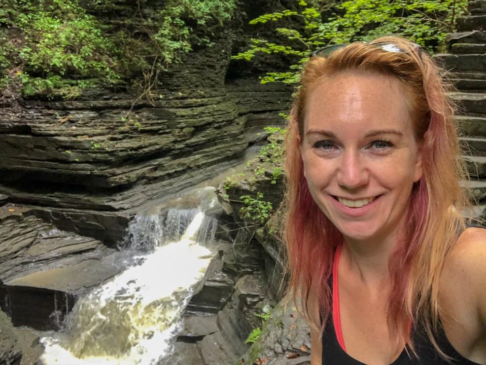 Watkins Glen State Park, New York, Gorge Trail #chasingwaterfalls #momswhohike #friendswhohike #hikingday #waitwhatseries #waterfallchasers #myFLXtbex #watkinsglenstatepark #watkinsglengorgetrail #watkinsglengorge #upstateNY #fingerlakes #watkinsglen #racinghistory #upstatenewyork #iloveny #hikingmom #hikingadventures #womenwhohike #girlswhohike #sheexplores #empirestateofmind #empirestate #sheadventures #liveyouradventure #wildnewyork #hikeNewYork #choosewaterfalls #newyorkhike #senecalakearea #kathrynanywhere