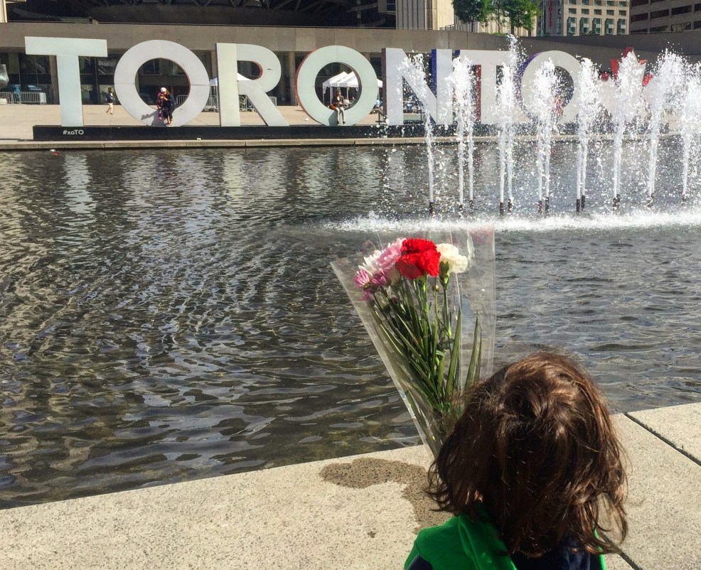 Iconic Toronto sign #xoTO at Nathan Phillips Square