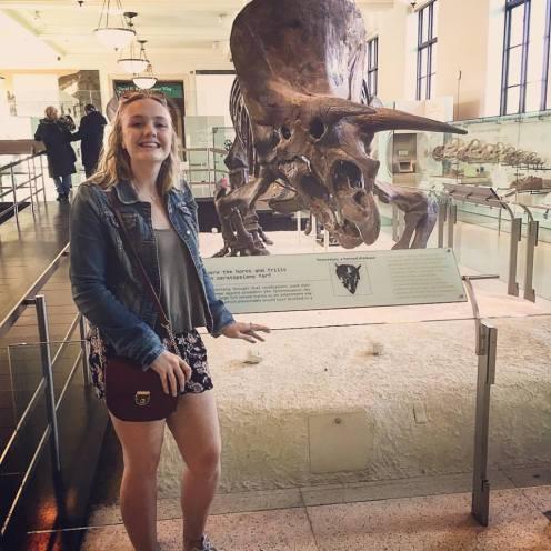 Me x a Triceratops. NY