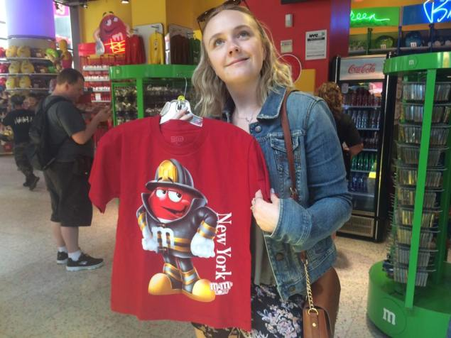 Best t-shirt I could find in M&M world