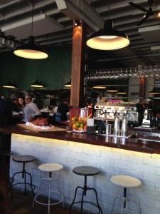 The centre bar