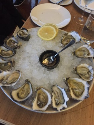 Our selection of Oysters