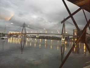 View of Pyrmont Bridge
