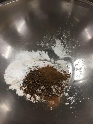 Salt and Szechuan pepper coating