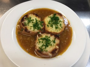 French Onion Soup - cooked in class