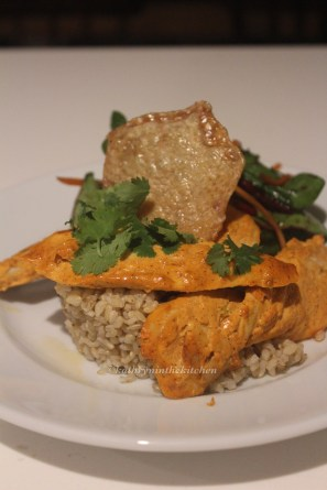 Chicken Tandoori with crispy chicken skin