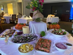 More of the cold selection of the Seafood Buffet