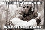 bad student