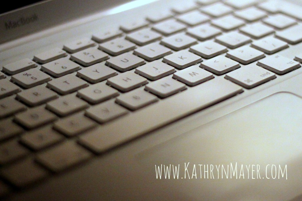 Kate Mayer is a blogger who writes. Don't they all?