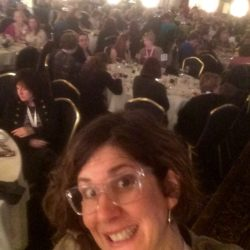 Dinner w 350 writers in Dayton Ohio