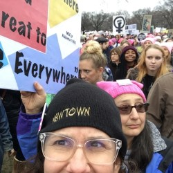 We the People got on the bus for Womens March in DC