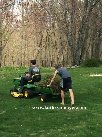 Good parents make kids do yard work