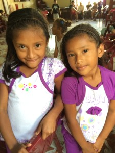 Two sweet little girls at Susuma