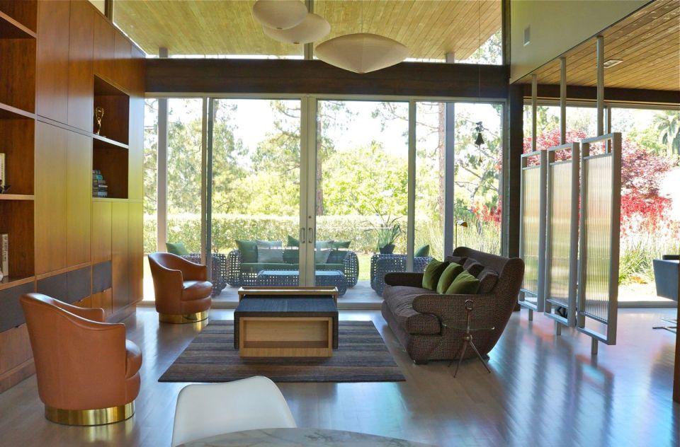 CArla Tonsich, AIA, modern living room, Holly hunt, aga john, kathryn waltzer interior design, brentwood ca, pacific palisades, amlibu
