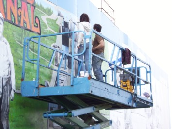 thorold mural