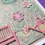 Dovecraft Couture du Jour collection of papers, stamps and embellishments