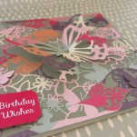 Dovecraft Painted Blooms with First Edition Craft a Card die