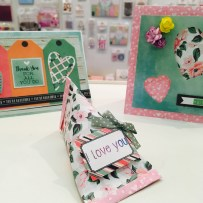 Trimcraft First Edition Sweet Nothing papercraft gift box project