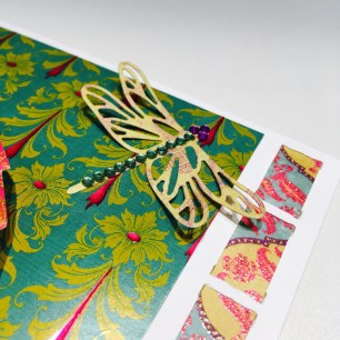 Dovecraft dragonfly die and First Edition Storyteller papers