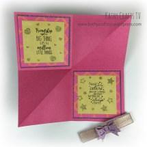 Folded card 4a