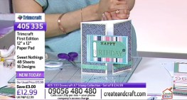 Making cards live on Create & Craft TV