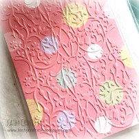 How to use embossing folders 3