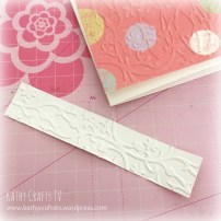 How to use embossing folders 4