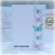 Cardmaking examples with white space