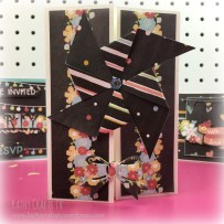 Large pinwheel handmade card
