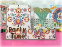 Party Time easel card handmade