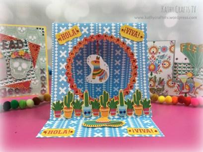 Pinata easel card