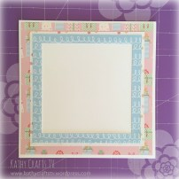 Tips for cardmaking - mats and layers 2