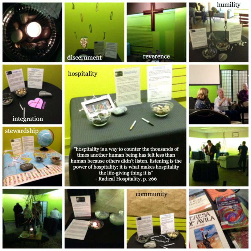 theology camp collage
