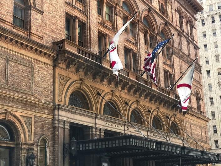 Carnegie Hall, New York City NYC, New York