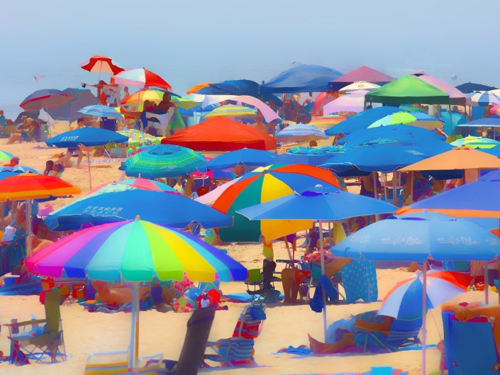 Cape May Beach Scene 2