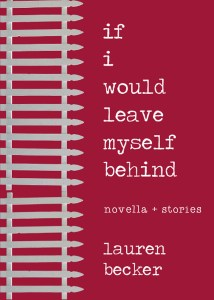 if i would leave myself behind