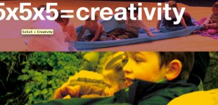 5x5x5=Creativity