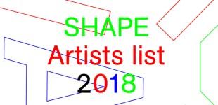 SHAPE platform 2018